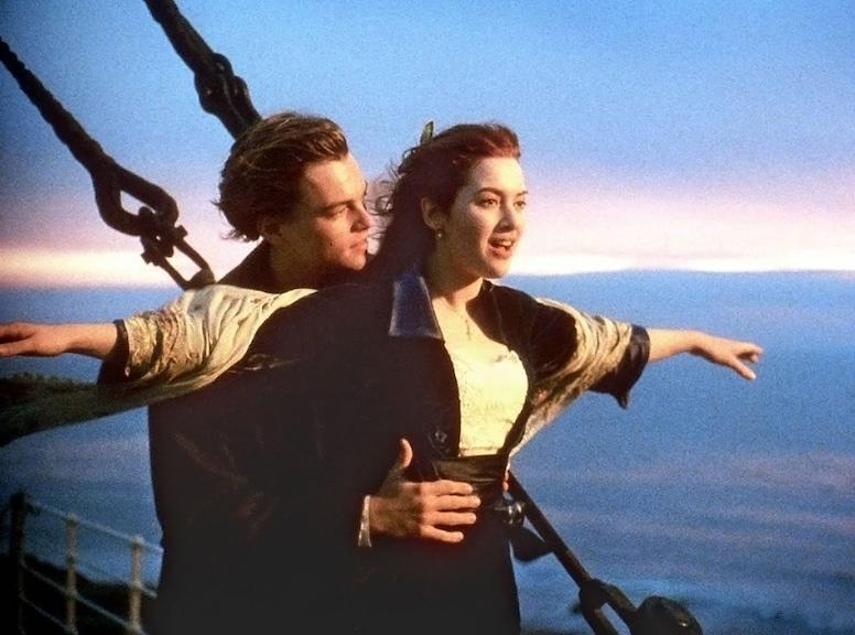 Leonardo DiCaprio, Kate Winslet, Titanic