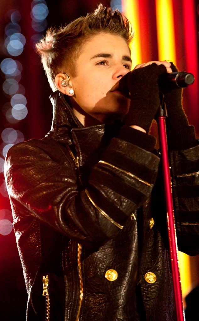 Justin Bieber, Rockefeller ChristmasTree Lighting