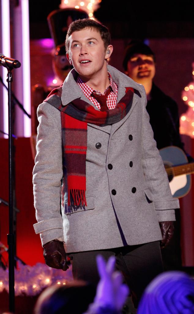 Scotty McCreary, Rockefeller ChristmasTree Lighting