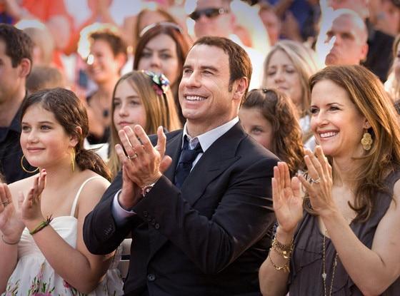 John Travolta, Ella Bleu, Kelly Preston
