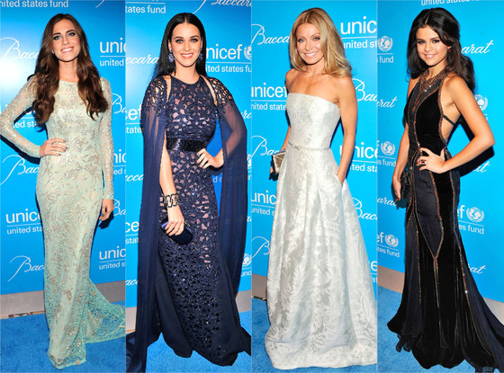 Kelly Ripa, Katy Perry, Selena Gomez, Allison Williams