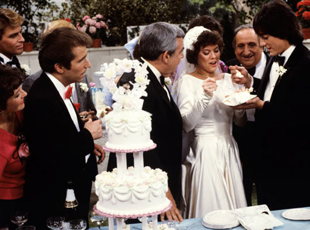 Joanie & Chachi, Happy Days from Top TV Weddings | E! News