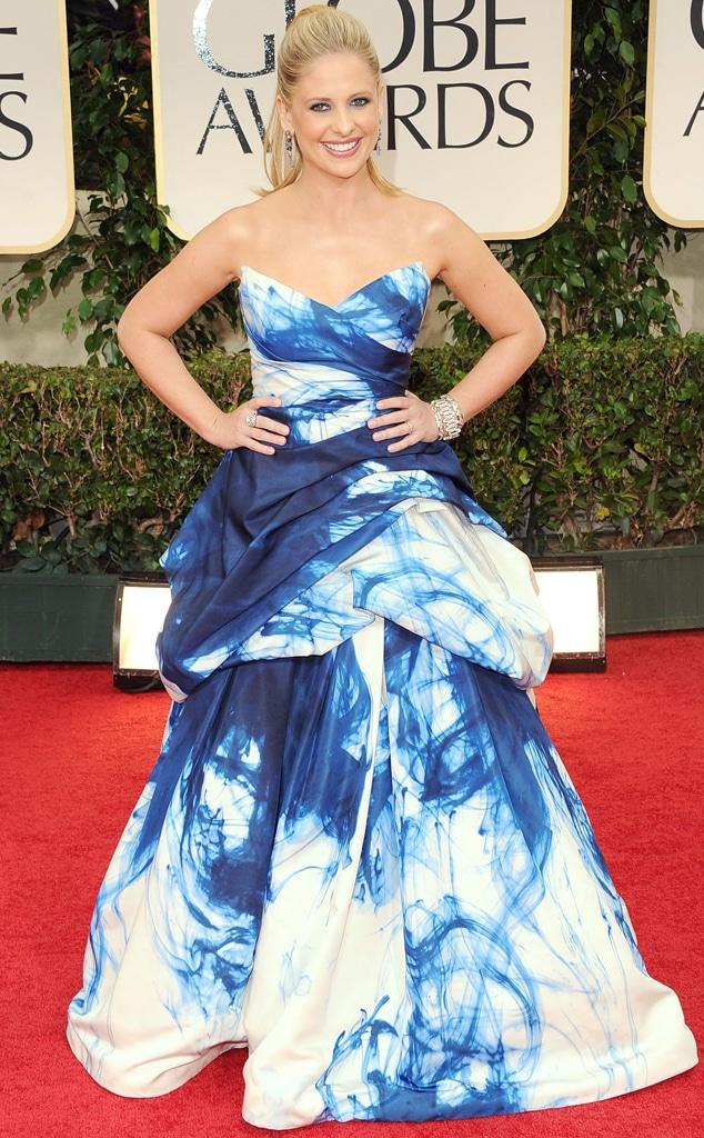 Sarah Michelle Gellar, Golden Globes, 2012