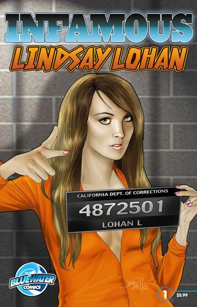 Lindsay Lohan, Infamous Comic Book