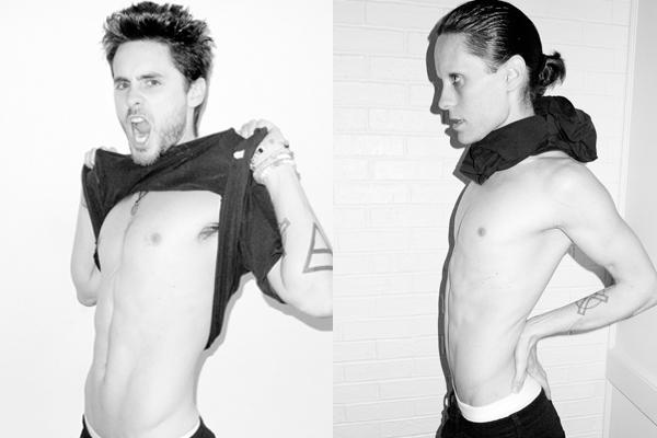 Jared Leto, antes e depois