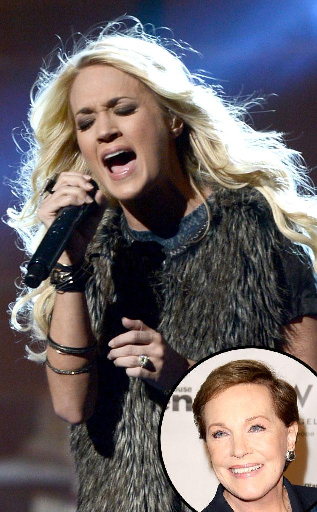 Carrie Underwood, Julie Andrews