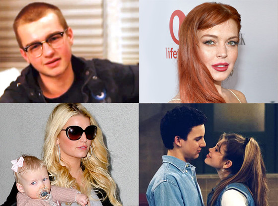 Angus Jones, Lindsay Lohan, Jessica Simpson, Boy Meets World