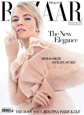 Sienna Miller, Harper's Bazaar
