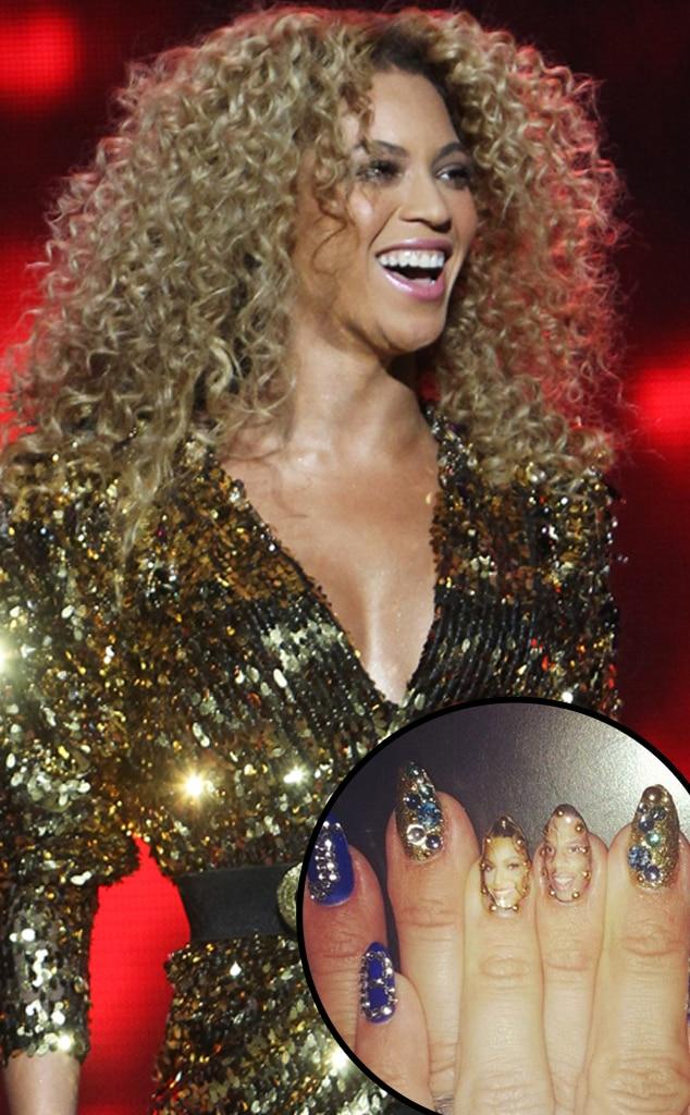Beyonce, manicure