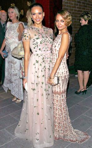 Jessica Alba, Nicole Richie