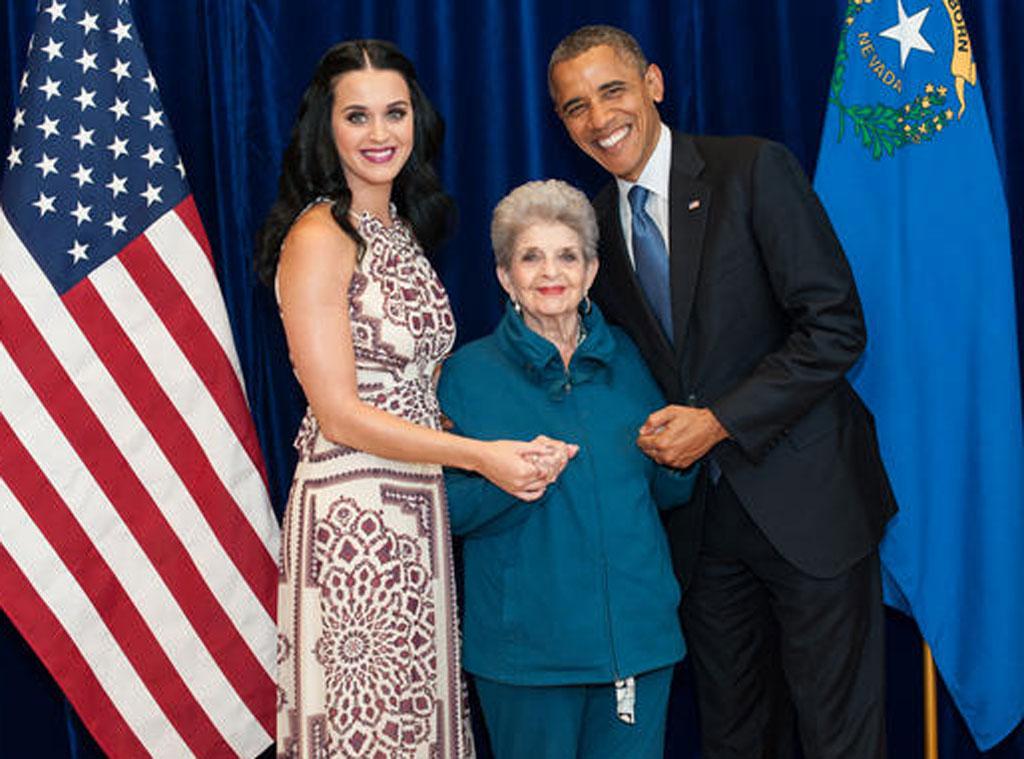 Katy Perry, Grandma, Barack Obama, Twit Pic