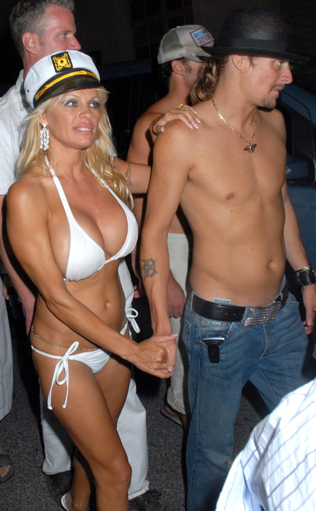 Pamela Anderson, Kid Rock, Wedding