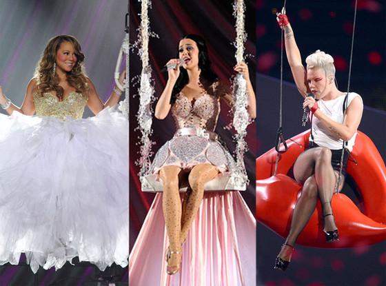 Mariah Carey, Pink, Katy Perry