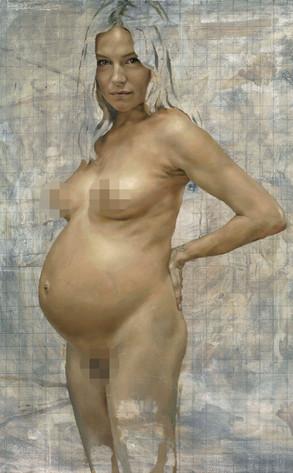 Sienna Miller, Jonathan Yeo painting
