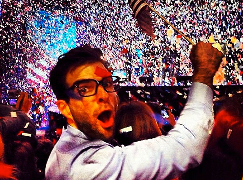 Election Twit Pic, Zachary Quinto