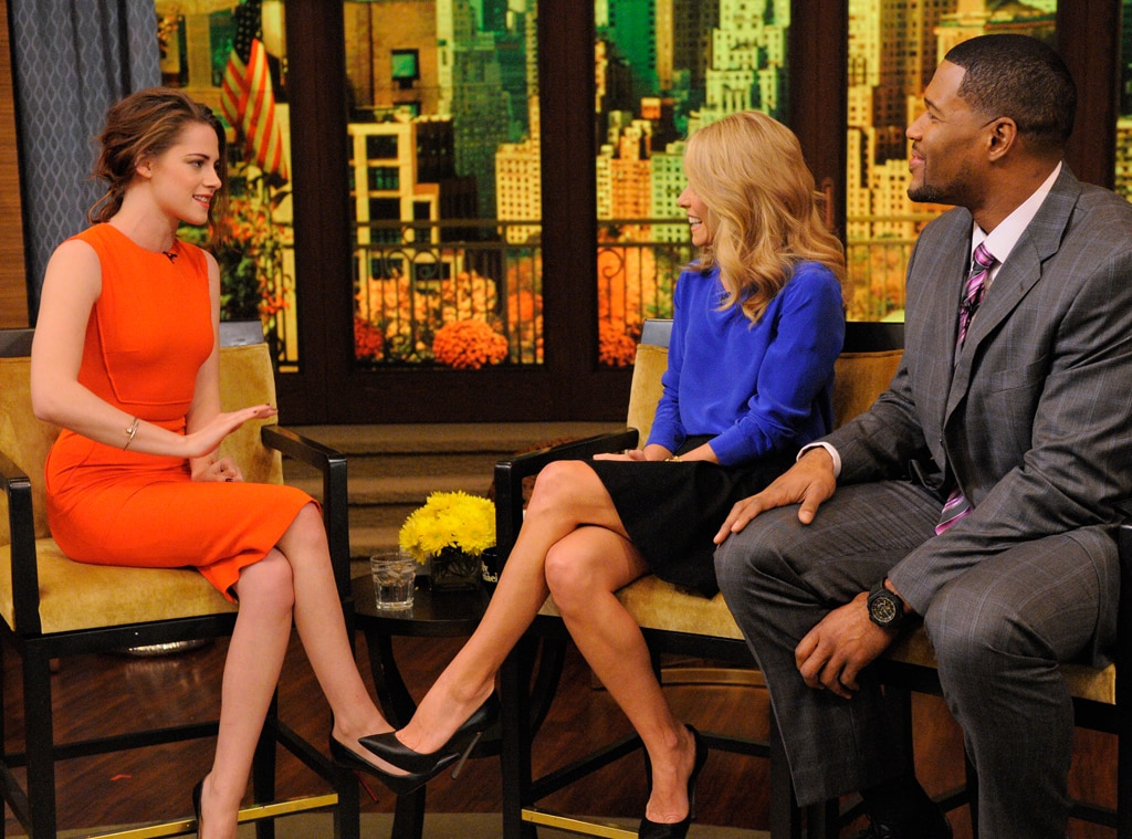 Kristen Stewart, Live with Kelly and Michael