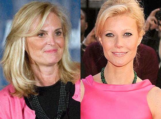 Ann Romney, Gwyneth Paltrow