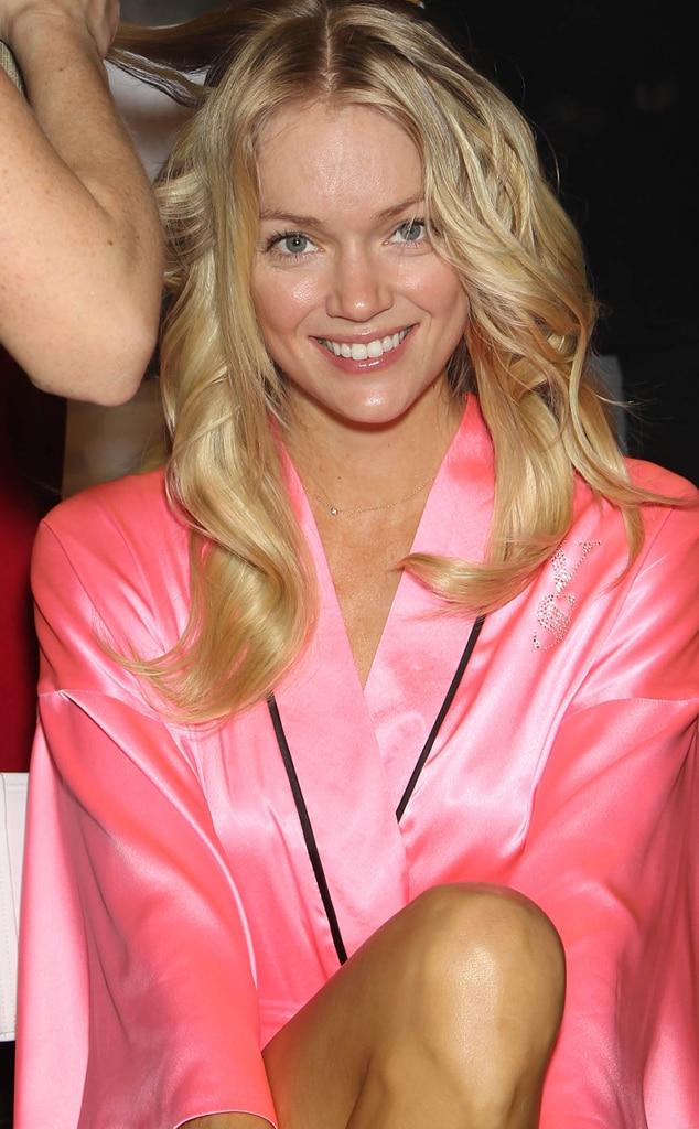 Lindsay Ellingson, Victoria's Secret, no make-up