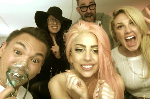 Heidi Klum, Lady Gaga