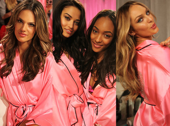 Alessandra Ambrosio, Shanina Shaik, Jasmine Tookes, Candice Swanepoel, Victoria Secret