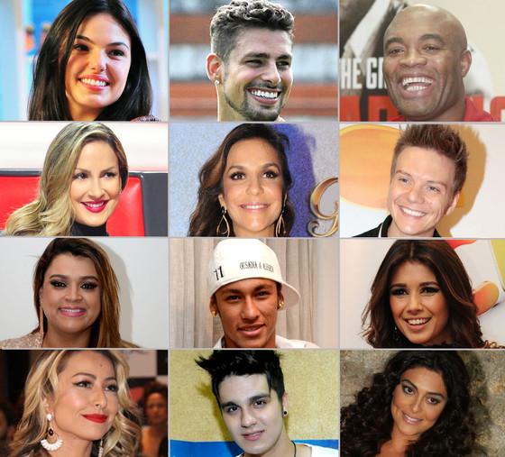 celebridade e! 2012