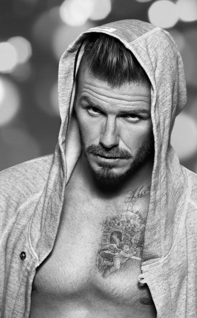 David Beckham, H&M Ad
