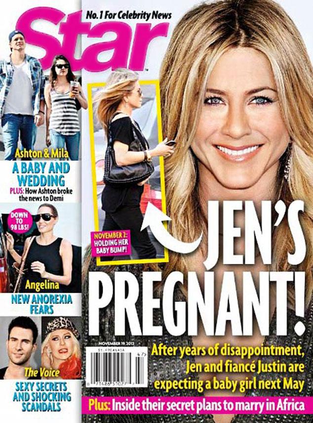 Jennifer Aniston, Star Magazine