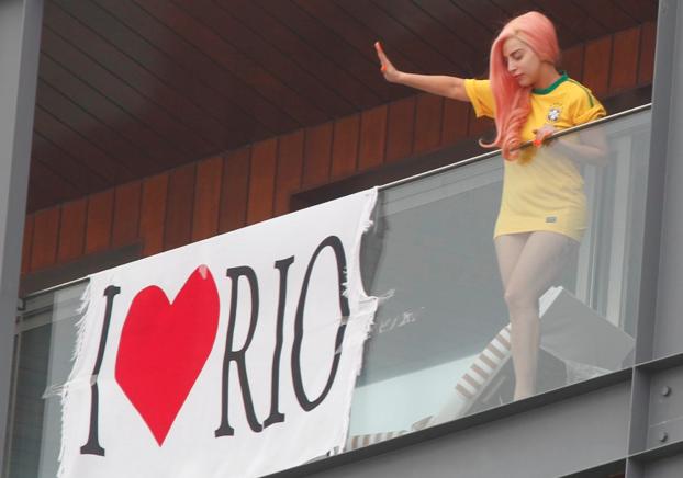 Lady Gaga, Lady Gaga no Brasil