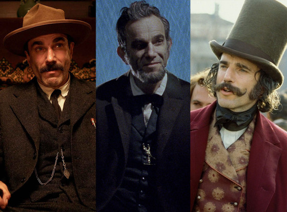 Daniel Day Lewis, Lincoln, There Will Be Blood, Gangs of New York