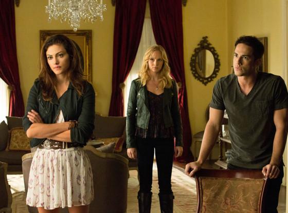 The Vampire Diaries, Phoebe Tonkin, Candice Accola, Michael Trevino