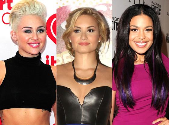 Miley Cyrus, Demi Lovato, Jordin Sparks
