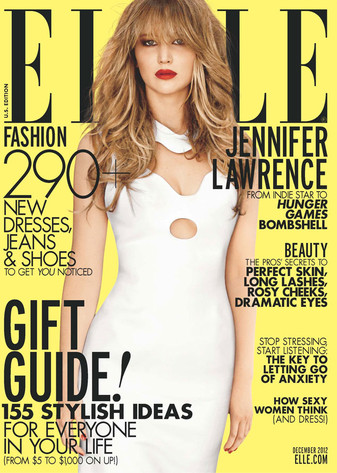 Jennifer Lawrence, Elle Magazine