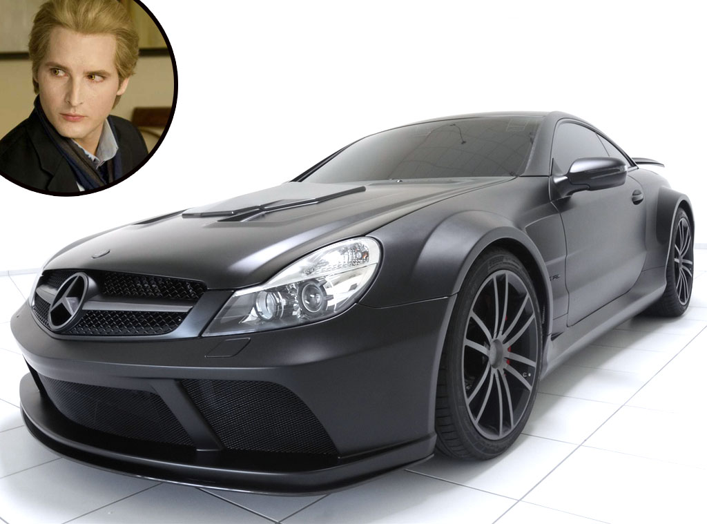 Twilight Cars, Black S55 AMG Mercedes, Peter Facinelli