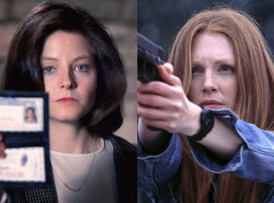 Jodie Foster, The Silence of the Lambs, Julianne Moore, Hannibal