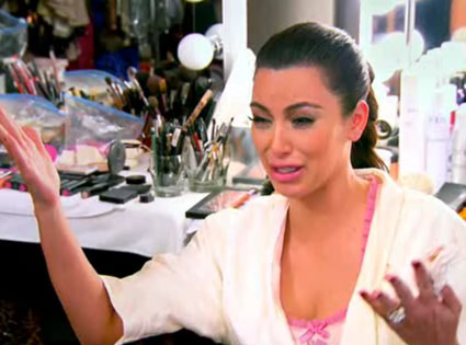 Image result for kim k crying