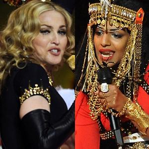 Madonna, M.I.A.