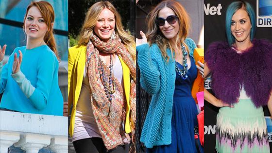 Emma Stone, Hilary Duff, Sarah Jessica Parker, Katy Perry