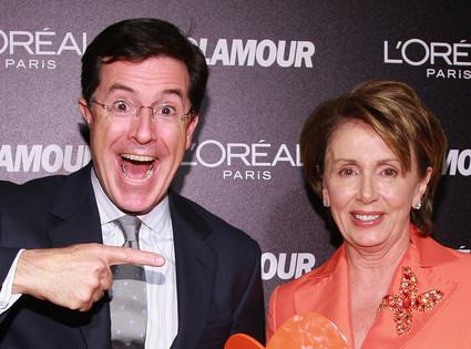 Stephen Colbert, Nancy Pelosi