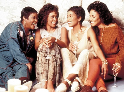 WHITNEY HOUSTON, LELA ROCHON, LORETTA DEVINE, ANGELA BASSETT, Waiting to Exhale