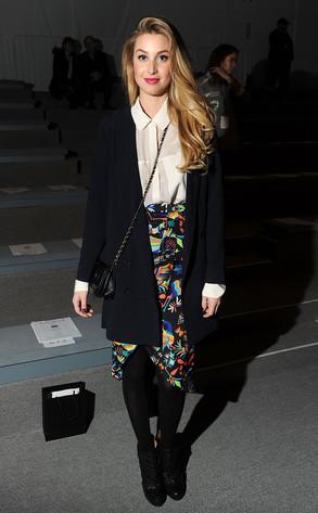 NY Fashion Week, Whitney Port