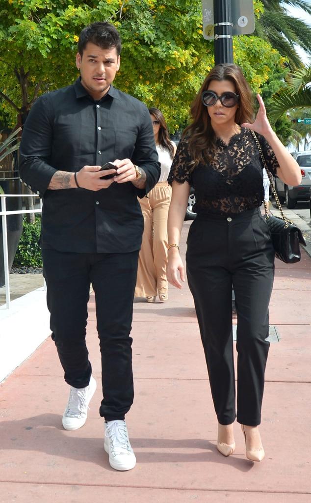 Robert Kardashian, Kourtney Kardashian