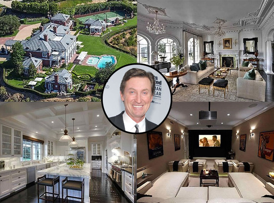 Wayne Gretzky, Home