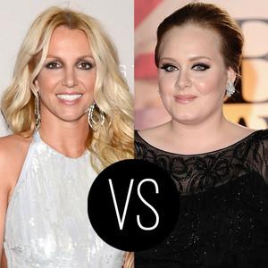 Britney Spears, Adele