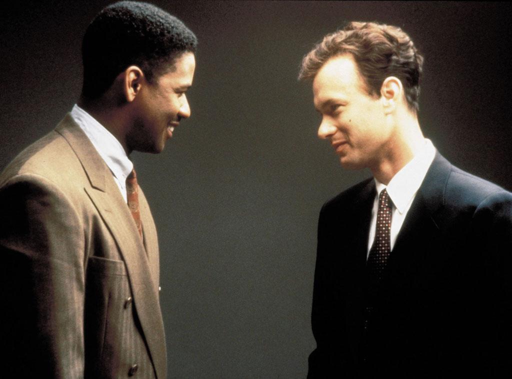 Denzel Washington, Tom Hanks, Philadelphia