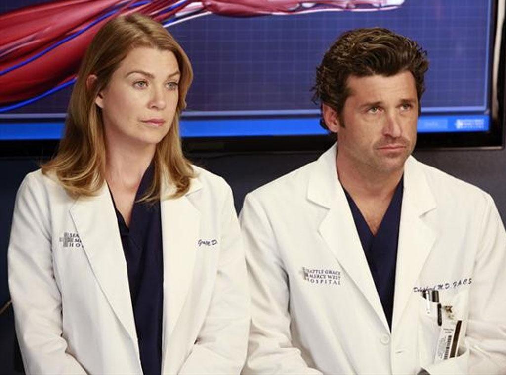 Patrick Dempsey, Ellen Pompeo, Grey's Anatomy