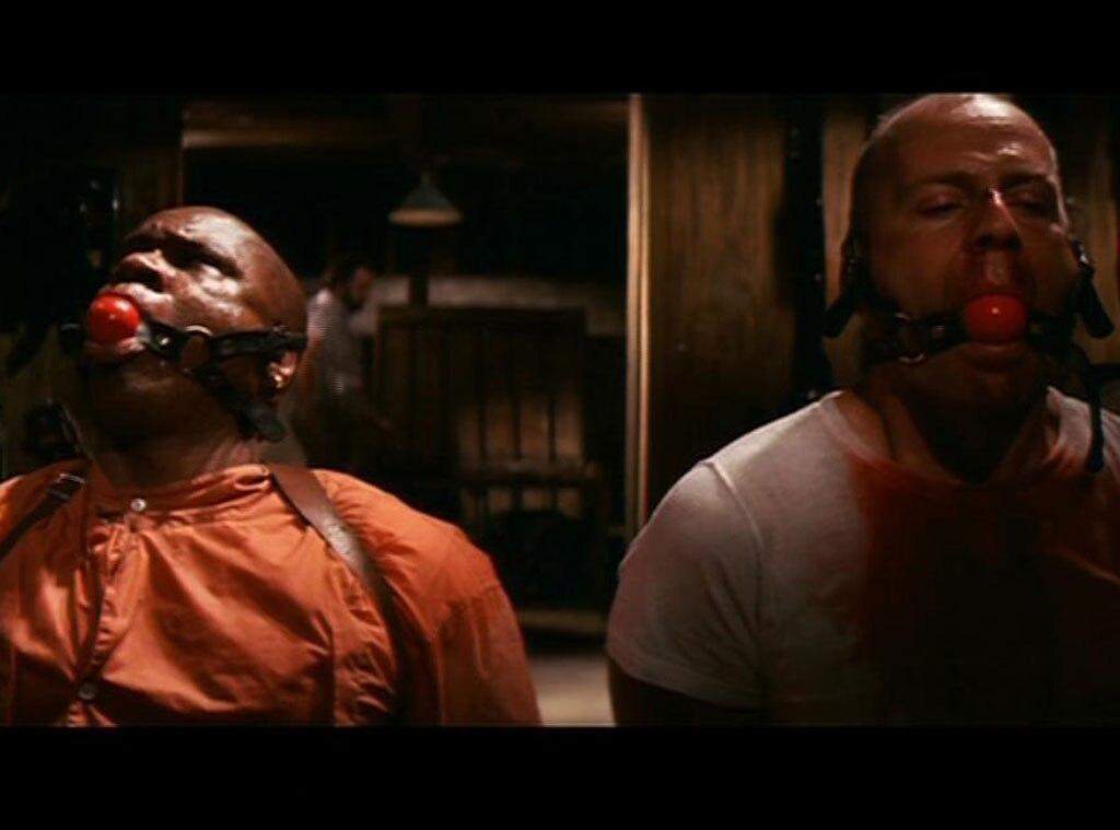 Ving Rhames, Bruce Willis, Pulp Fiction