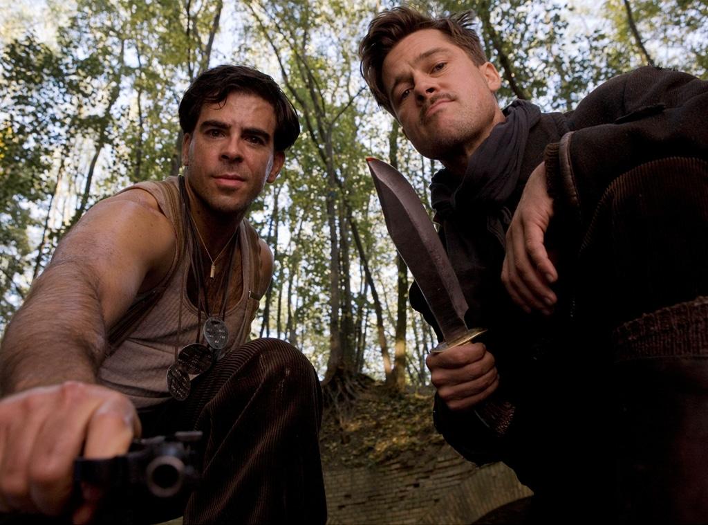 Brad Pitt, Eli Roth, Inglourious Basterds