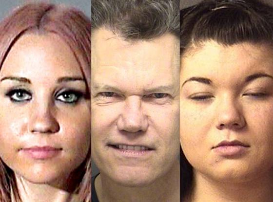 Amanda Bynes, Randy Travis, Amber Portwood Mugshot