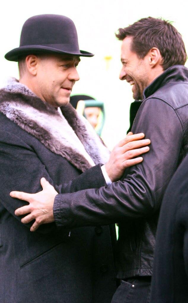 Hugh Jackman, Russell Crowe