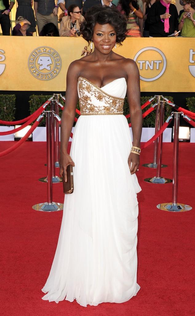Red Carpet Royalty From Viola Davis Best Looks  E News